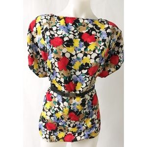 Red & Yellow Vintage Top Size XL